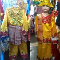 Pakaian baju adat anak gorontalo size S - M Lk/Pr