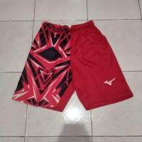 Paling Terlaku Celana Bola Voli Printing Mizuno Diamon Merah Murah