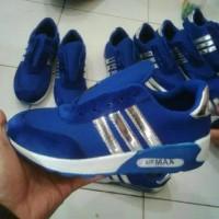 Terlaris Sepatu Adidas Sport Hitam Terbaru S287 Bkn Original Sneakers