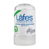 LAFES Crystal Rock Deodorant 63gr Alami Lafe's Deodoran