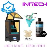 3D Printer Resin Anycubic Photon SLA DLP UV LED 405nm Light Cure HD - Bonus 1L Resin