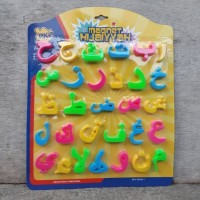 Huruf Hijaiyyah Magnet Edukasi Anak Belajar Mengaji Al Quran Hijaiyah
