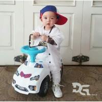 Mainan anak mobil duduk LAMBO ft POLICE (MVP-7155)