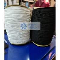 500 Gram Tali Karet Standar Masker Bedah / Karet Elastic Per Roll