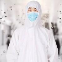 APD (alat pelindung diri) Baju APD Hazmat