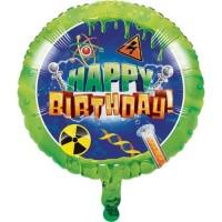 """Balon Foil HBD 18"""" TemaMad Scientist - Perlengkapan Pesta Ulang Tahun"""