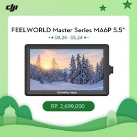 "FEELWORLD Master Series MA6P 5.5"" On Camera Monitor 1920x1080 4K HDMI"