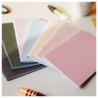 Notes Notebook Blocknote Mini Jasmine Polos A6 Jilid Staples
