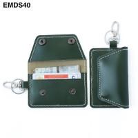 Dompet STNK Motor Mobil kulit asli Kartu SIM - Gantungan Kunci EMDS40