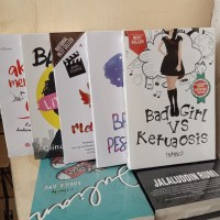 PAKET 5 NOVEL BAD GIRL MELODYLAN LITTLE GIRL BAD PESANTREN DALAM DIAM