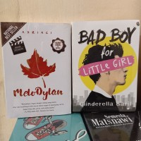 PAKET 2 NOVEL WATTPAD MELODYLAN - BAD BOY FOR LITTLE GIRL