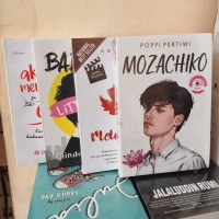 PAKET 4 NOVEL MOZACHIKO - MELODYLAN - LITTLE GIRL - DALAM DIAM