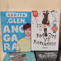 PAKET 2 NOVEL WATTPAD GLEN ANGGARA - BAD GIRL VS KETUA KELAS