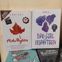 PAKET 2 NOVEL WATTPAD MELODYLAN - BAD GIRL IN PESANTREN