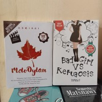 PAKET 2 NOVEL WATTPAD MELODYLAN - BAD GIRL VS KETUA OSIS