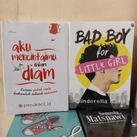 PAKET 2 NOVEL WATTPAD BAD BOY FOR LITTE GIRL - AKU MENCINTAIMU