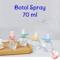 70ml Botol Spray Semprot Bottle Parfum Hand Sanitizer Alkohol Face Mis