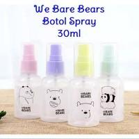 30ml Botol Spray Bare Bears Semprot Bottle Parfum Hand Sanitizer Alkoh