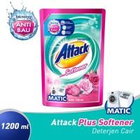 Attack Plus Softener Liquid 1200 ML