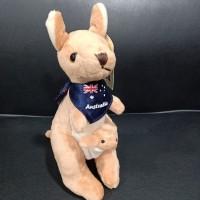 Souvenir dari Australia Ori/ pajangan boneka kanguru/koala