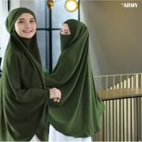 Jilbab Hijab Kerudung Instan French Khimar Cadar Madinah Syari Jumbo