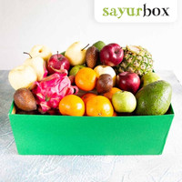 Fruit Hampers Lebaran Size Big Hampers Buah Size Big 1 box Sayurbox