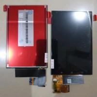 LCD TOUCHSCREEN BB BLACKBERRY KEYONE ORIGINAL - Hitam