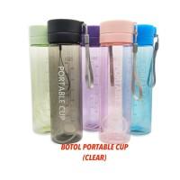 Botol Minum Portable Cup 750 ml (Clear)