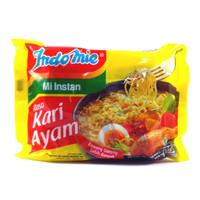 Indomie Mi Instan Rasa Kari Ayam 72 Gram - 3 PCS