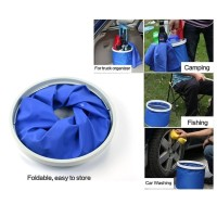 Folding Bucket Fishing Waterproof Pail 11L | Ember Lipat | Ember Unik