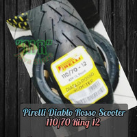 Ban Pirelli Diablo Rosso Scooter 110/70 Ring 12 for VespaSprint Scoopy