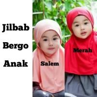 Jilbab Bayi Bergo Hijab Anak Bergo Kerudung Bayi