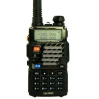 Walkie Talkie Dual Band FM Radio Flashlight UV5RE
