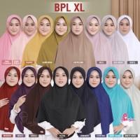 Jilbab Instan Bergo Jumbo Miulan Plain Laura XL Dewasa