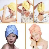 Hair wrap magic towel hairwrap handuk penyerap air dengan cepat handuk