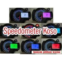 Speedometer KOSO RX2N Replika LCD Digital 7 Warna