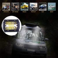 LED Offroad 60W Cree 3 Row 12V 24V Lampu Sorot LED 60 Watt