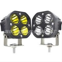 Lampu LED 40w 4 Mata 12V 24V Lampu Sorot LED 40 Watt