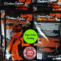AMS Gold 35 STEP 1 (Voer Halus) Pakan Burung Murai Jawara Isi 250 Gr