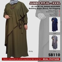 Gamis Jumbo Fit XL-XXXL SB110