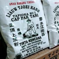 SAGU TANI LIAUW TJOEI KANG 1 kg , Tepung Sagu Asli , Sagu Pempek