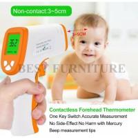 Best Termometer Digital Non Contact Infrared D380 Pengukur Suhu Tubuh