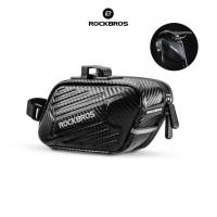 ROCKBROS B59 Bike Saddle Hard Shell Bag - Tas Sadel Sepeda Lipat BLACK