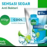 Sabun Mandi Dettol Bodywash Cool Anti Bakteri Ph Balanced 450 ml 450ml