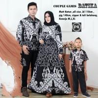 batik couple baju keluarga baju set batik sarimbit papa mama anak