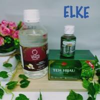 Paket promo keto vico bagoes 1ltr + immunator honey + teh celup