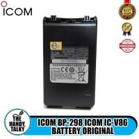 ICOM BP 298 ICOM IC V86 BATTERY ORIGINAL