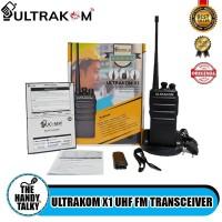 ULTRAKOM X1 UHF FM TRANSCEIVER