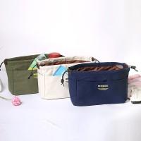 Korean Dual Bag in Bag Organizer / Tas Kosmetik Wanita Size M - TRK03