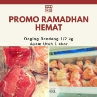 Paket Promo Ramadhan Ayam dan Daging Rendang